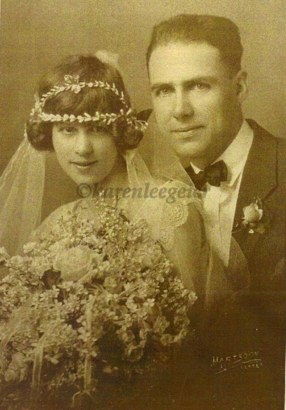 appell_herman g and margaret adelaide patterson_wedding day