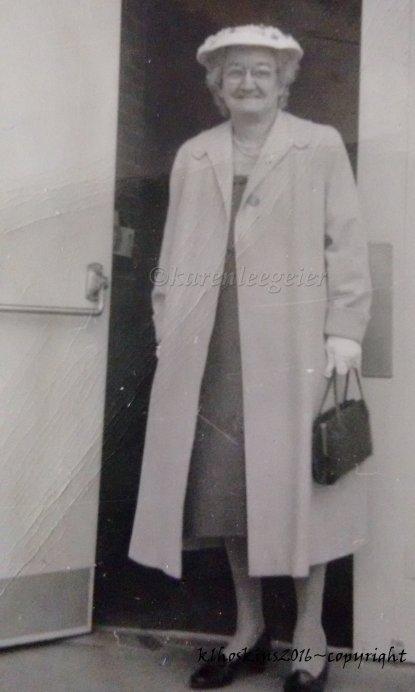 Lucy Beachler, my husband's grandma