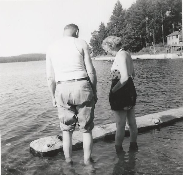 butterfield lalla and ed haggie_hood canal_early 50s