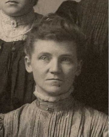 Sarah Butterfield, wife of Oscar