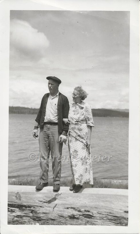 Ed and Lalla, Hood Canal