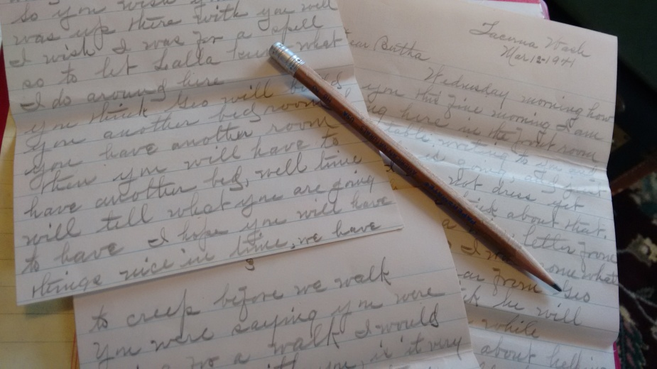 Orah letters_1940 to April 1941