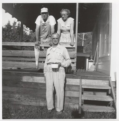 Kasae_Haggie_Ed Lalla and Bert_Hood Canal maybe_1950s maybe