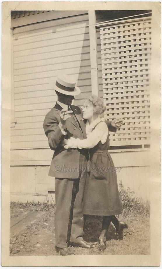 Kasae_Hazel and Bert_in the early days_early 20s_could be house on Oakes_Tacoma