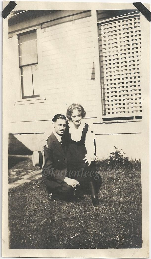 Kasae_Hazel and Bert_in the early days_early 20s_could be house on Oakes_Tacoma_b