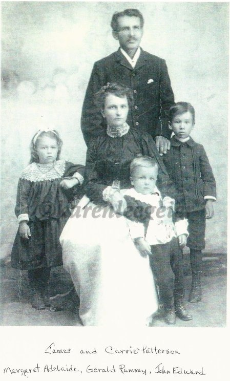 Patterson_James Carrie and children Margaret Gerald and John Patterson - Copy