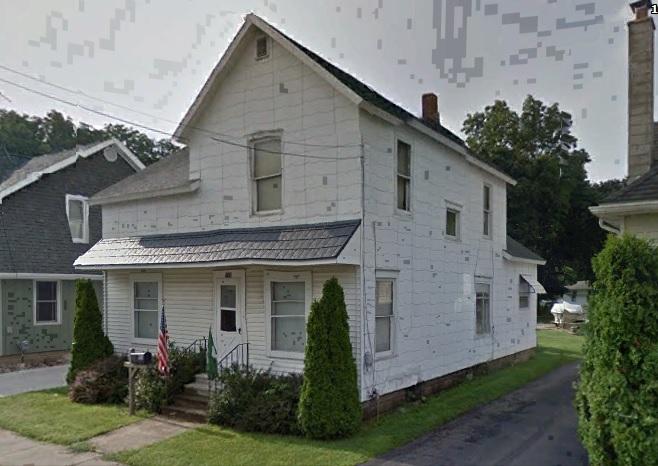 Butterfield Edna_Mabels backyard_1956_Charlotte Michigan_106 Kreb Street
