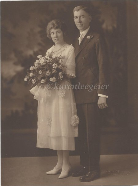 geier carl_lalla butterfield wedding day photo_24 Aug 1921 Tacoma