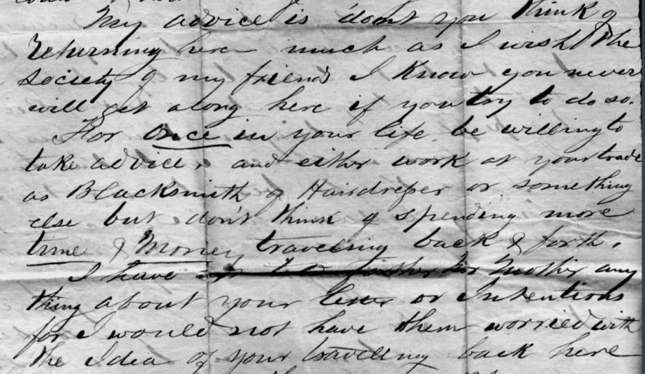 smith charles_excerpt from letter to Robert Hooker from Charles Smith_sus phelps